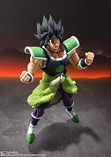 Nobranded SHF Dragon Ball Z Super Saiyan Broly Figura de acción articulada Colección Modelo de Juguete