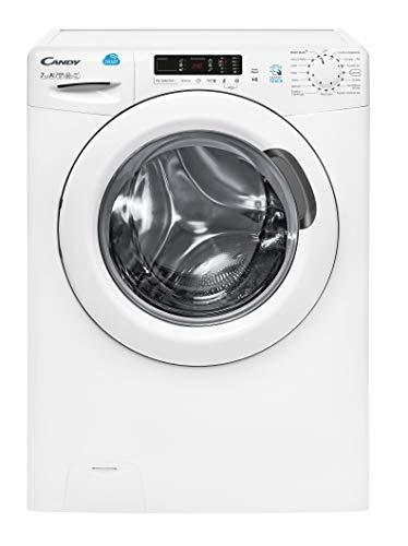 Candy CS 1272D3 1-01 lavatrice Libera installazione Caricamento frontale Bianco 7 kg 1200 Giri min A+++