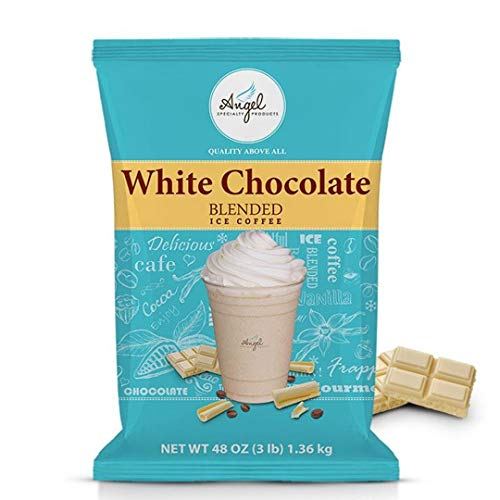 Angel Specialty Products - Blended Ice Coffee - Frappe Powder Mix - White Chocolate Mocha [3 LB] [34...