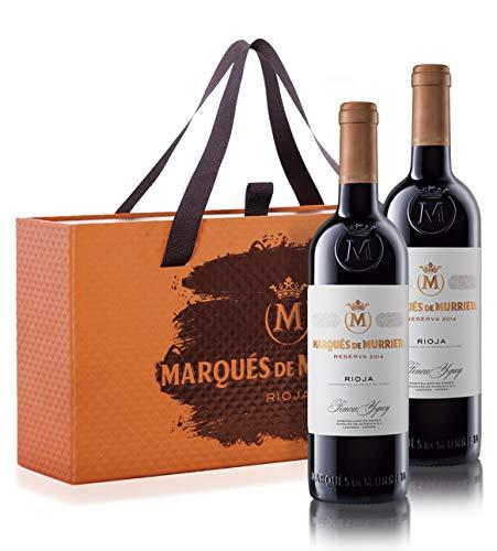Marqués de Murrieta Marqués de Murrieta Reserva 2014 - Paquete de 2 x 750 ml - Total: 1500 ml