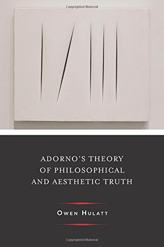 Adorno's Theory of Philosophical and Aesthetic Truth (Columbia Themes in Philosophy, Social Criticism, and the Arts)