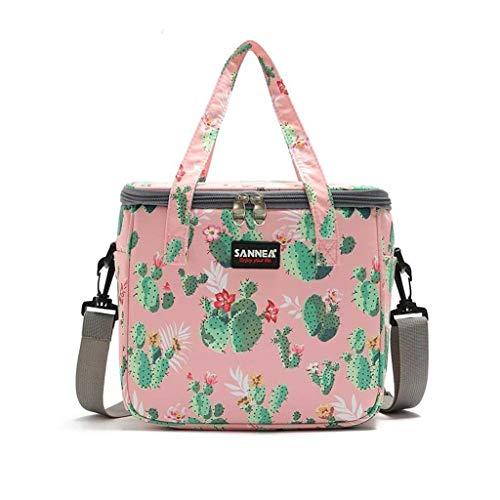 LF- Engrosamiento de aislamiento bolsa de la caja de almuerzo del bolso del bolso del almuerzo de picnic al aire libre bolsa de hielo bolsa de hielo con la bolsa de arroz refrigerado a prueba de agua