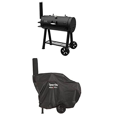 Dyna-Glo Signature Series DGSS443CB-D Heavy-Duty Compact Barrel Charcoal Grill