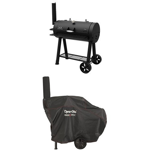 Dyna-Glo Signature Series DGSS675CB-D Heavy-Duty Barrel Charcoal Grill