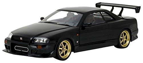 Greenlight 19030 1999 Nissan Skyline GT-R (R34), Black