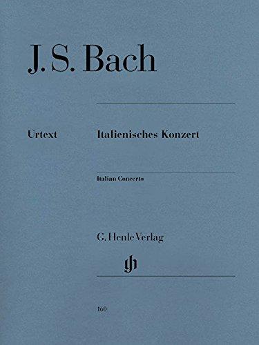 Italienisches Konzert F-Dur Bwv 971. Klavier