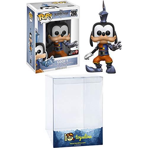 Goofy (GameStop Exc): Funko Pop! Vinyl Figure Bundle with 1 Compatible 'ToysDiva' Graphic Protector (266 - 12369 - B)