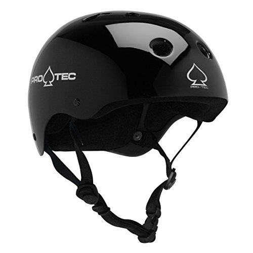 Protec Classic Helmet Gloss White Small