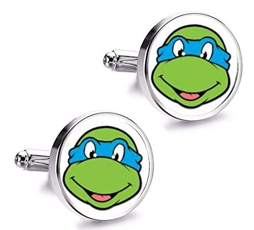 Manschettenknöpfe Hemd Magglass Ninja Turtles Leonardo