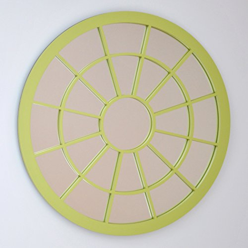DECOHOGAR.SHOP Miroir Rond (287) 80_x_80_cm Laqué Blanc