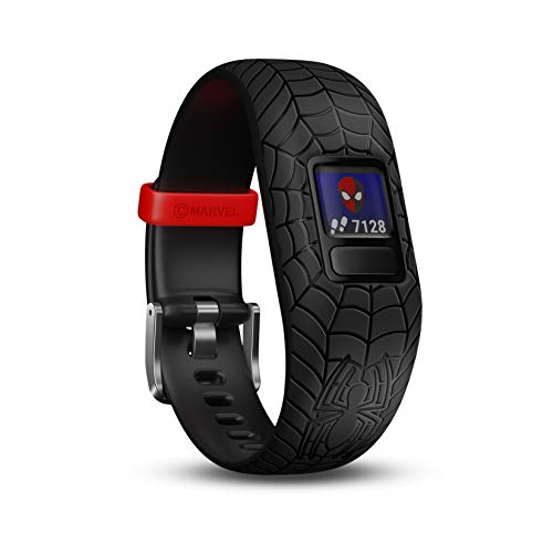 Garmin Vivofit Jr 2 Spiderman - Color Negro