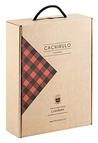 Cachirulo Rojo - Estuche 3 Botellas de Vino Tinto - Garnacha & Syrah - 2015 - DOP Cariñena - Bodega Hnos. Torcal, de quinta generación