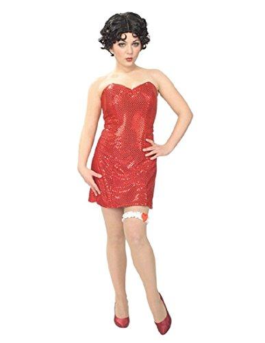 Sexy Betty Boop™ Kostüm für Damen - XS