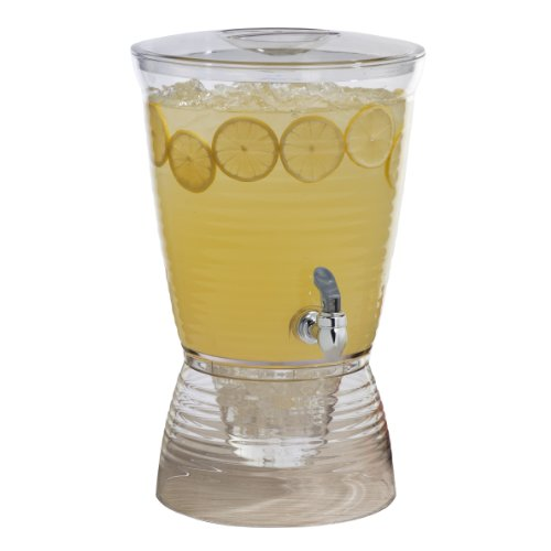 CreativeWare - Dispensador de Bebidas, Transparente, 2.5-Gallon, 1