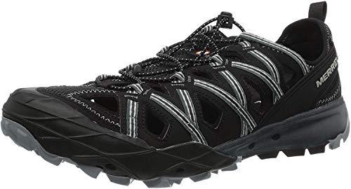 Merrell Herren Choprock Shandal Aqua Schuhe, Schwarz (Black), 43 EU