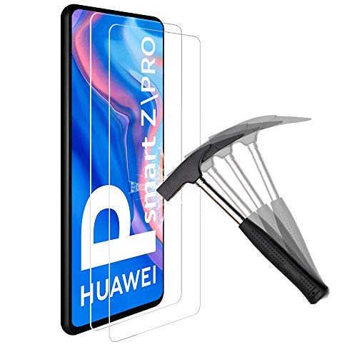 ANEWSIR 2X Vetro Pellicola Protettiva per Huawei P Smart Z/Huawei P Smart PRO Vetro Temperato Huawei P Smart Z/Huawei P Smart PRO Screen Protector [HD Alta Trasparenza] [Anti-Graffi]