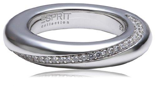 Esprit Damen-Ring 925 Sterling Silber Zirkonia PERIBESS Gr.53 (16.9) ELRG91429A170