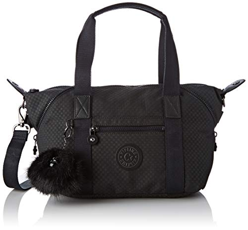 Kipling Art Mini, Cartables femme, Noir (Powder Black)
