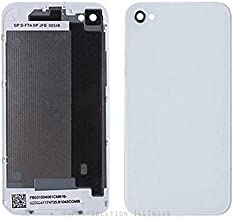 ePartSolution_Rear Back Cover Battery Door Glass Housing for iPhone 4 | iPhone 4 CDMA | iPhone 4S Replacement Part USA Seller (iPhone 4S White)