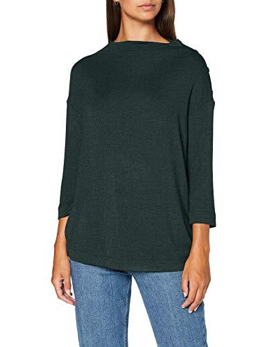 ESPRIT 090EE1K308 T-Shirt, 300/verde Scuro, XS Donna