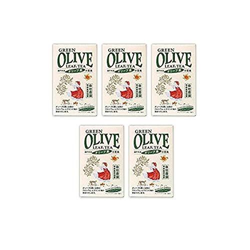 小豆島産 無農薬オリーブ茶 - 小豆島産オリーブ茶(3g×30包×5個) 無農薬オリーブ葉100%オリーブ茶 日本のオリーブ産地・小豆島産 無農薬・無化学肥料栽培オリーブ使用