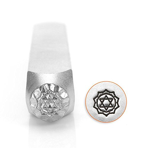 ImpressArt- 6mm, Heart Chakra Metal Stamp