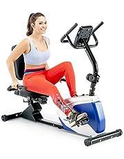 دراجة مارسي بوضعية الاتكاء لممارسة التمارين بميزة مغناطيسية مع 8 مستويات مقاومة