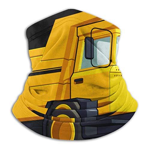 Camion à Benne basculante Camion de Transport en Molleton Cache-Cou guêtre sans Couture Masque Facial en Plein air Cache-Cou Coupe-Vent Respirant Bandana cagoules