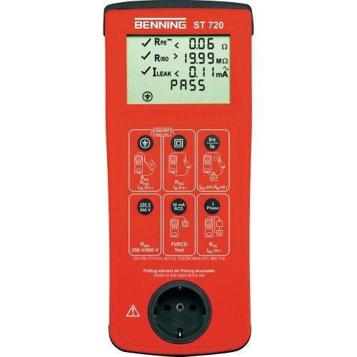 Benning ST 720 gerätetester gemit DIN VDE 0701-0702, 050312