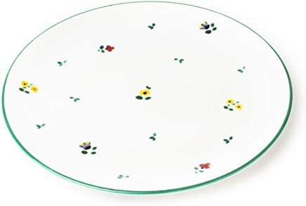 Preisvergleich für GMUNDNER KERAMIK Speiseteller Cup | Durchmesser : 28 cm | Streublume | Geschirr, handgemacht in Österreich