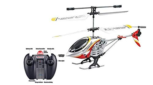 Remote Controlled Helicopter - Red - 3.5 Channels for Accurate Flying - Alloy Design
