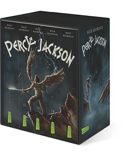 Percy-Jackson-Taschenbuchschuber (Percy Jackson): Alle fünf Bände der Bestsellerserie im Schuber!