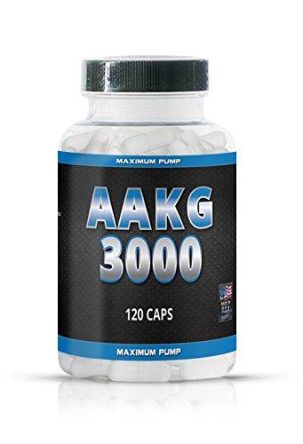 AAKG 3000 Arginin Alpha Ketoglutarate - 120 capsules - NOX-pomp