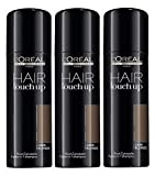 3 x LOREAL Hair Touch Up Spray dunkelblond/dark blonde á 75ml