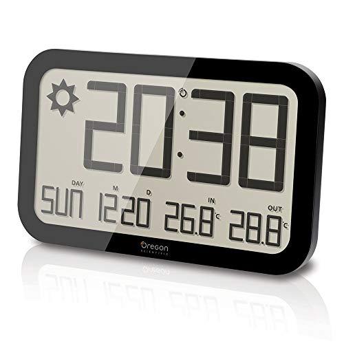 Oregon Scientific JW108 - Reloj de Pared Inalámbrico con Pr