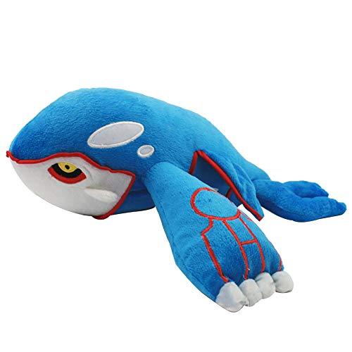 Jineyshun Kyogre muñeca de peluche bolsillo animal monstruo original...