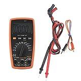 Electrotécnico Digital Multímetro multímetro electrónico Digital, multímetros electrónicos Digitales Profesionales 81D, probador de Corriente de Voltaje de Resistencia