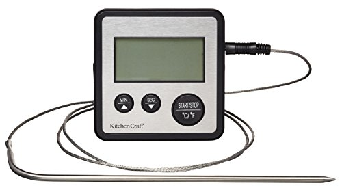 KitchenCraft Digitale Koken Thermometer en Keuken Timer