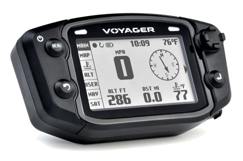 Purchase Trail Tech 912-4017 Voyager Stealth Black Moto-GPS Computer