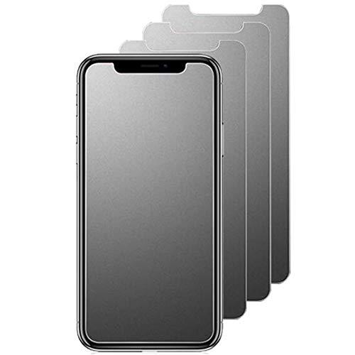 """JELLYEA Pellicola Opaca per iPhone X/XS / 11pro [3-Pezzi] Vetro Temperato Opaco Antiriflesso Pellicola Protettiva Anti-Impronta 9H Matt Protezione Schermo Pellicola per Apple 11pro / XS/X,5.8"""""""