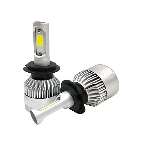LEDKIA LIGHTING COB H3 20W LED lampen set voor auto's en motors Koel wit 6000K