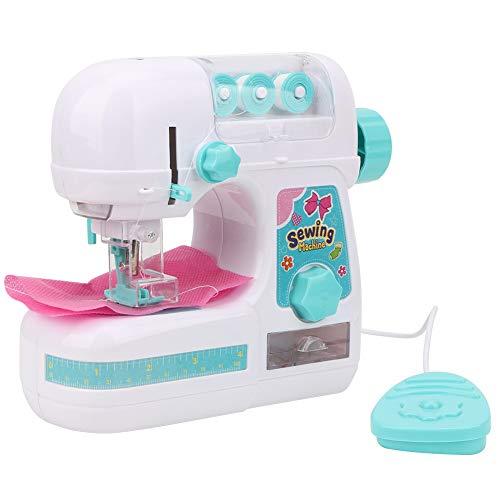 Portátil máquina de coser eléctrica, tamaño mediano estilo de costura Craft Kit juguetes...