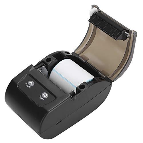 110‑240V QR Codes Printer, Thermal Printer, Bluetooth USB Connection High Resolution for Printing Pattern Printing Text(British regulatory)
