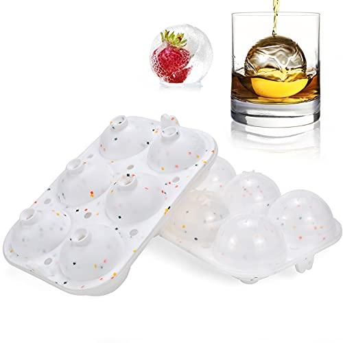 2pcs Cubiteras para hielo, Cubitos de Hielo Molde...