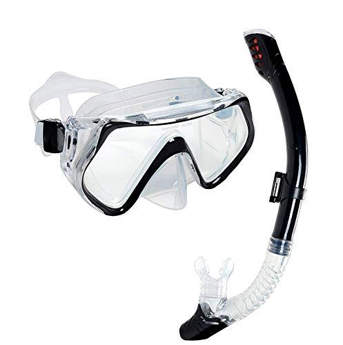 OBOSOE schnorchelset Snorkel Máscara Anti-Fog Gafas
