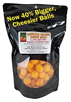 Anthony Spices - Carolina Reaper Cheese Balls Hottest balls in the world