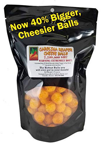 Anthony Spices - Carolina Reaper Cheese Balls (Hottest balls in the world)