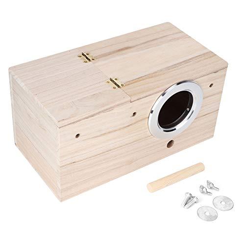 Nestkastje voor wilde huisdieren, vogelhuisje, voor tuin, terras of balkon, wooncultuur