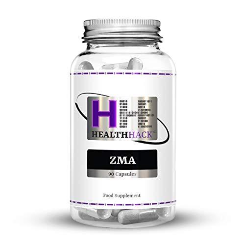 Health Hack - ZMA, 90 cápsulas