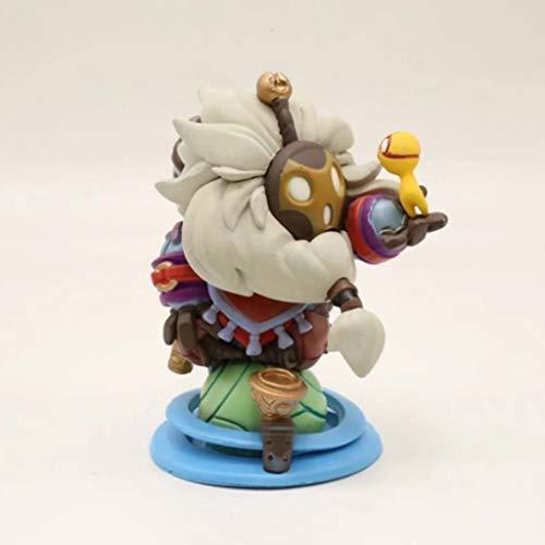 MMZ LOL Figur - Das wandernde Caretaker Bard-Abbildung PVC-Modell-Geschenk-Spielzeug for LOL Fans 10cm
